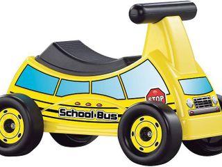 School Bus Ride On Toy  RETAIl  24 00