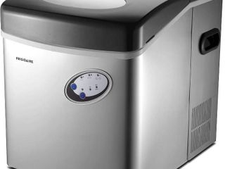 Frigidaire Extra large Countertop Ice Maker  Stainless Steel  48 lbs per day  RETAIl  179 98