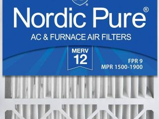 Nordic Pure 20x25x5 MERV 12 Pleated lennox X6673 X6675 Replacement AC Furnace Air Filters 1 Pack  RETAIl  44 98
