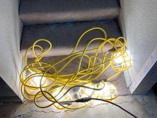 50 Foot Construction Temporary lighting String location B4