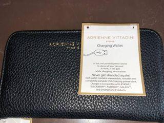 Unused Adrienne Vittadini Studio Charging Wallet location B2