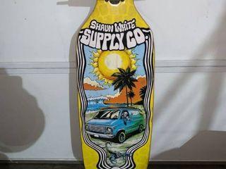 Shaun White Supply Co  longboard No Wheels location B3