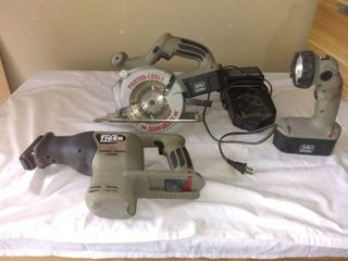 lot Of 3 Porter Cable Tools Tested And Working