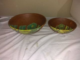 lot Of 2 Usable Or Decorative Bowls
