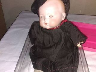 Antique Porcelain Doll With Certificate Of Appraisal