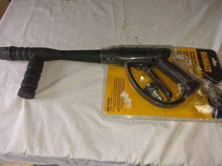 DEWAlT 4500 PSI Spray Gun with Adaptor