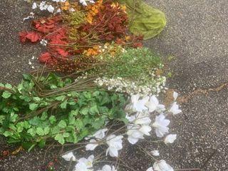Assortment Of Fake Flowers location Shelf C