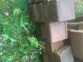 lot of 24 Square landscaping Blocks