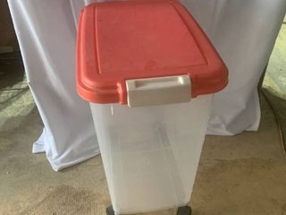 4 Wheel Plastic Storage Bin location C4