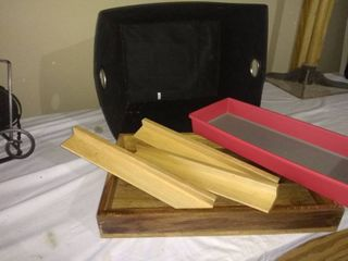 Assorted lot Tray  Basket Etc