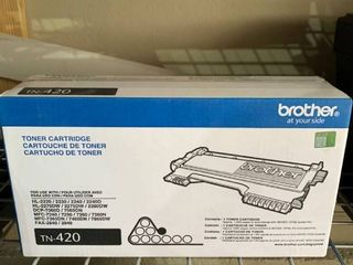 Unopened Brother TN 420 Toner Cartridge location A3