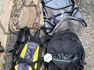lot of 4 Backpacks Athletech Kings River location A2
