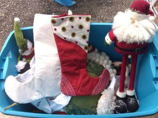 Mega lot Of Assorted Christmas Home Decor