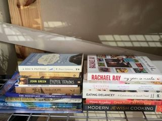 lot Of Books and Cookbooks location B4