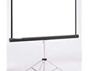New in box 100 inch tripod stand movie screen