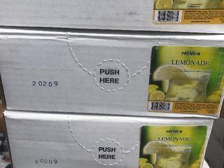 4  1 gallon bag in box lemonade