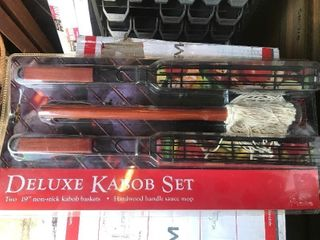 Deluxe kebab kit as pictured