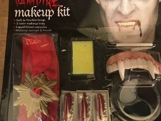 Get ready for Halloween five vampire kits