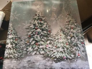 New Christmas decor painting