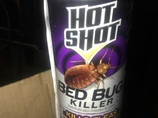 Six cans of hot shot bed bug and flea killer