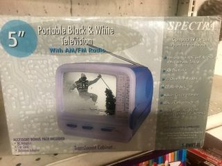 Small portable televisions great for camping