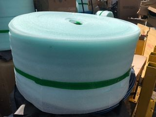 Extra large role of packing foam great for packaging packing and other uses