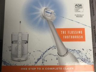 Electric toothbrush as pictures