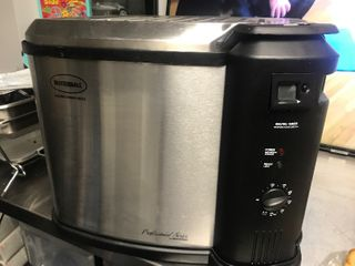 Just in time for Thanksgiving butterball turkey fryer looks great