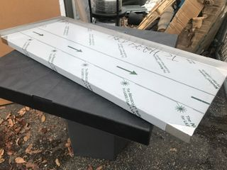 New 18 x 4 stainless steel shelf as pictured or use your imagination