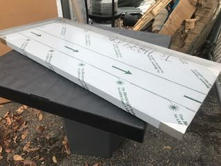 New 18 x 3 stainless steel shelf as pictured or use your imagination