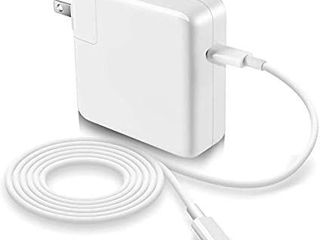 MacBook Pro Charger  61W Replacement USB C to Type C Ac Power Adapter Charger