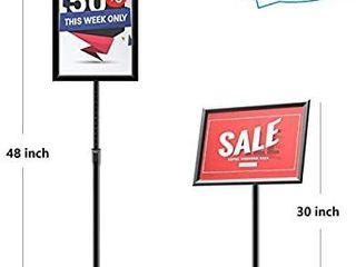 GUOHONG Heavy Duty Sign Stand