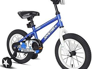 JOYSTAR Pluto Kids Bike with Training Wheels for 12 14 16 18 inch Bike  Kickstand and Training Wheels for 18 inch Bike