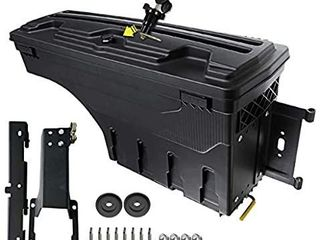 A Premium Truck Bed Tool Box Storage Case Compatible with Ford F 150 2015 2019 Pickup Rear Right Passenger Side
