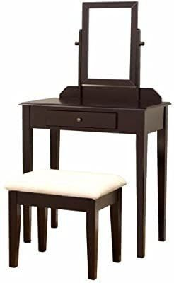 Frenchi Furniture Wood 3 Pc Vanity Set