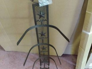 Western Cowboy Star 4 Hat Rack