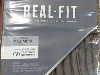 Depend Real Fit Incontinence Underwear for Men  Maximum Absorbency  Disposable  S M  28 Pack