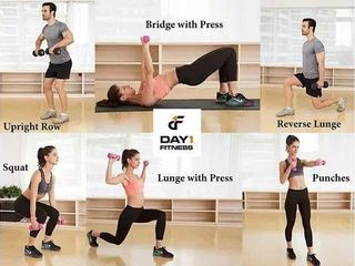 Day 1 Fitness Dumbbell 15 lB