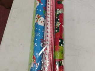 Pack of 6 Christmas Wrapping Paper