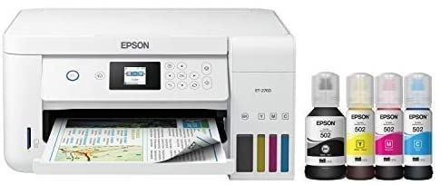 Epson EcoTank ET 2760 Wireless Color All in One Cartridge Free Supertank Printer