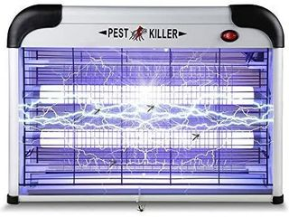 Electric Bug Zapper  2020 Upgrade  Portable Insect Killer with 2800V Power Grid Mosquito Pest Trap for Bedroom Kitchen Office  Garden  Backyard