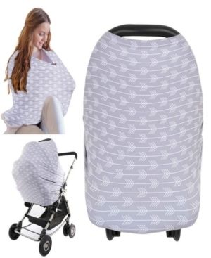 KeaBabies Carseat Canopy   Breastfeeding Nursing Cover