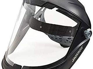 Jackson Safety lightweight Maxview Premium Face Shield W  Ratcheting Headgear