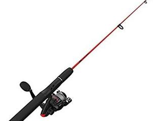 Zebco Dock Demon Spinning Reel or Spincast Reel and Fishing Rod Combo  30 Inch Durable Fiberglass Rod  QuickSet Anti Reverse Fishing Reel