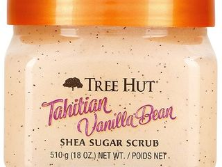 Tree Hut Tahitian Vanilla Bean Shea Sugar Scrub   18oz