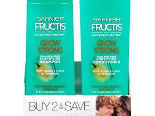 Garnier Fructis Active Fruit Protein Grow Strong Fortifying Shampoo   Conditioner Twin Pack   24 5 fl oz