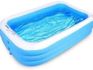 lunvon Family Inflatable Swimming Pool