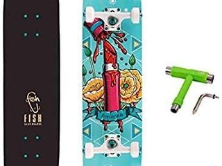FISH SKATEBOARDS Standard Skateboard