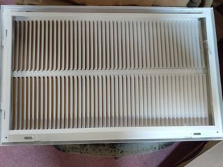 Air Return Vent 25x16 White