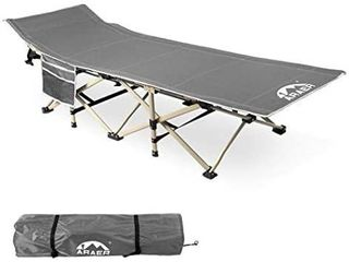 Camping Cot  450lBS Max load  Portable Foldable Outdoor Bed with Carry Bag for Adults Kids  Heavy Duty Cot